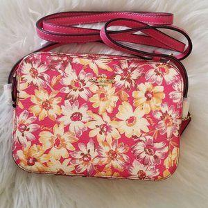 COACH | Mini Camera Bag - Daisy Scrip Print